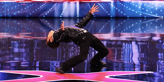 Kenichi Ebina – tanec Matrix style