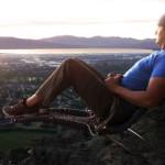 Luxusní výhled z horolezeckého křesla. Posadili byste se?!