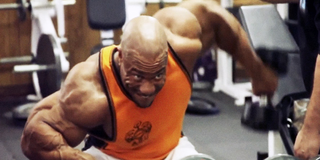 Phil Heath – trénink 4 týdny před Mr. Olympia 2013