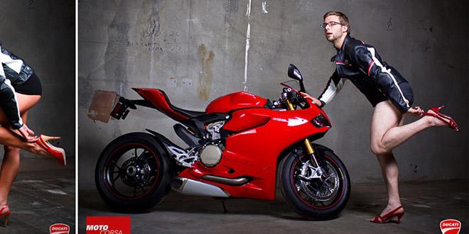 Ducati 911 – vtipna reklama