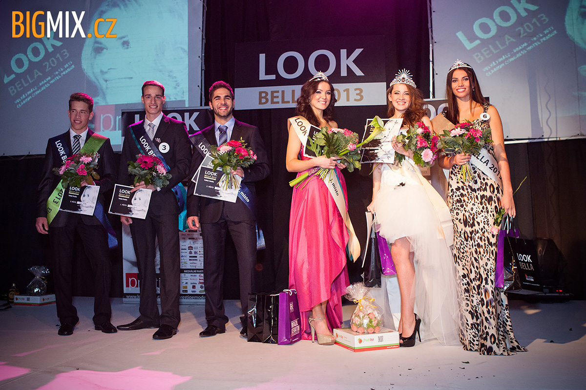 Vítězové LOOK BELLA 2013