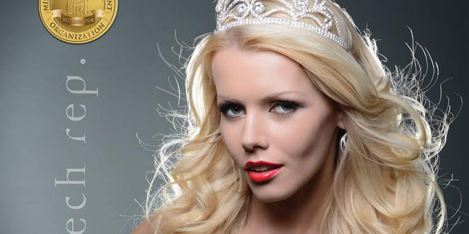 Miss Globe International 2013 – czech model Lenka Josefiova