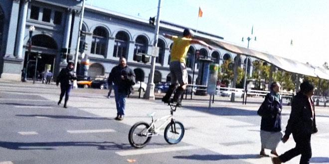 Parkour na kolech