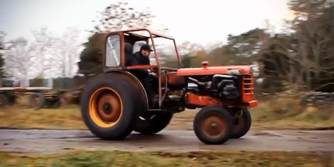 Tuning traktoru