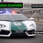 Vítejte v Dubaji: Přehlídka luxusních policejních aut, které v ČR nikdy neuvidíte