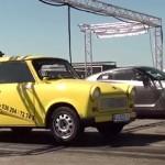Neuvěřitelná výhra: Trabant rozsekal na sprintu Nissana GT-R!