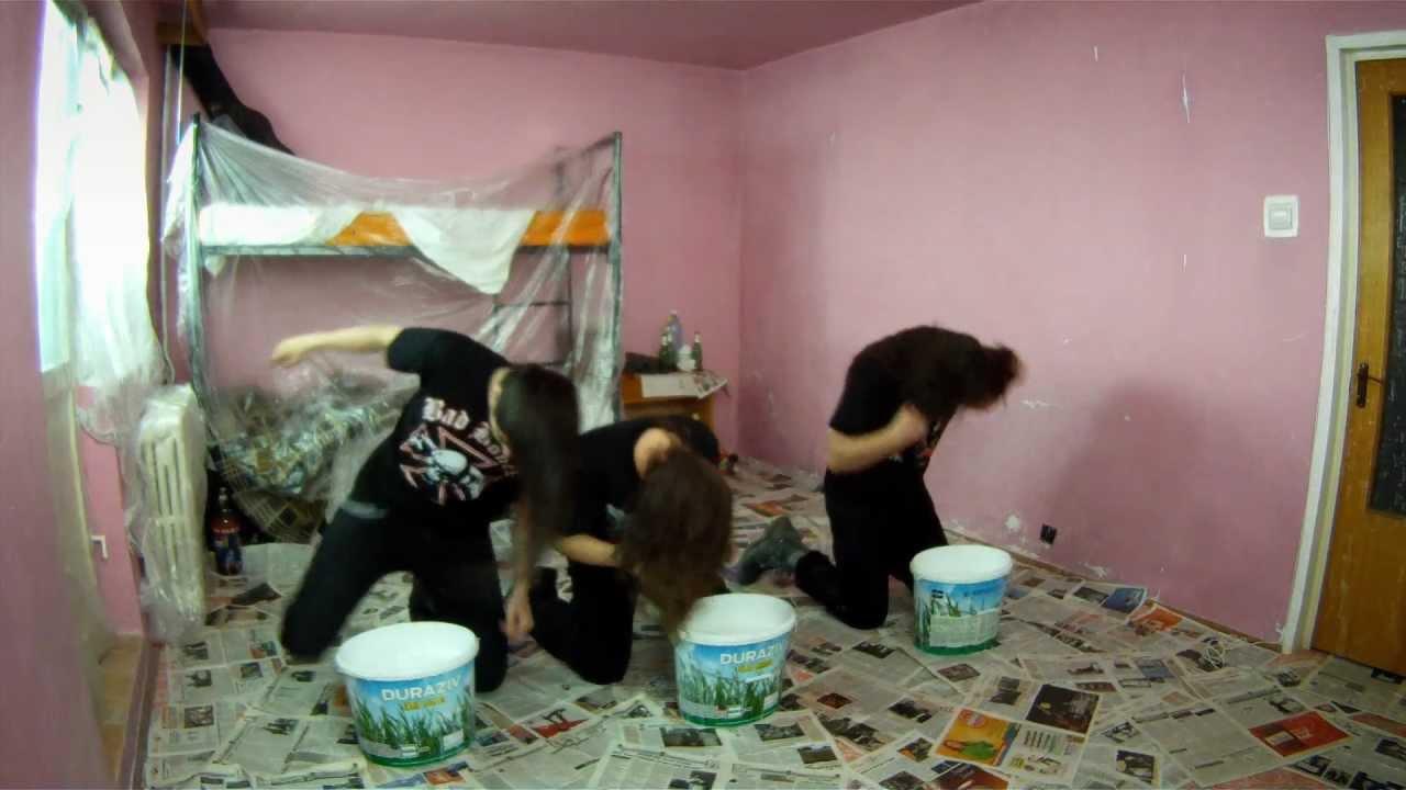 Návod pro metalisty, jak si rychle vymalovat pokoj!