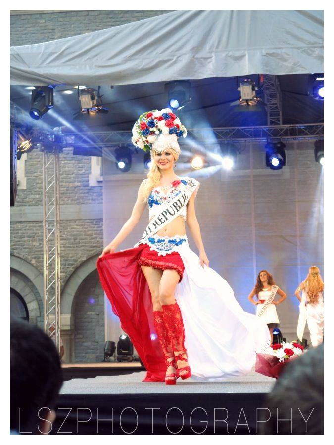 04b National costume show Miss European Tourism 2014