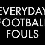 Fotbalové fauly v normálním životě!