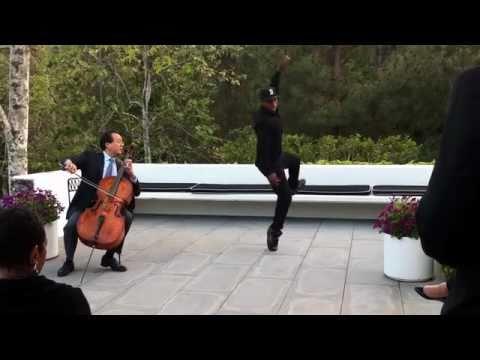 Legendární tanečník tančí za doprovodu světoznámého virtuóza!