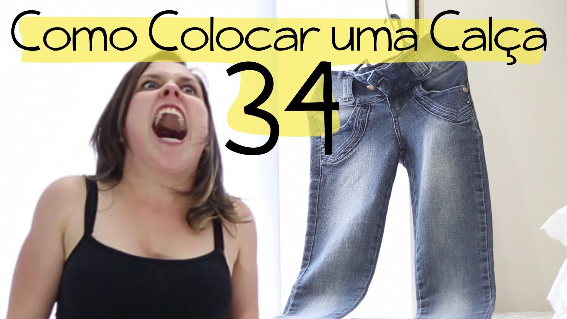 HOLČIČÍ PROBLÉM: Nešťastná holka si nemůže navlíknout kalhoty