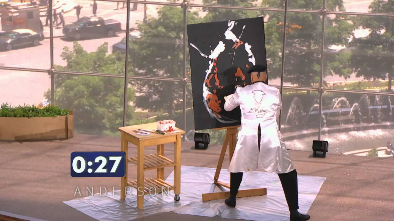 Co zvládnete namalovat za minutu a půl?