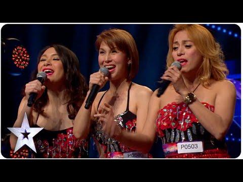 Asie má talent – veliké překvapení od sexy Filipínek!