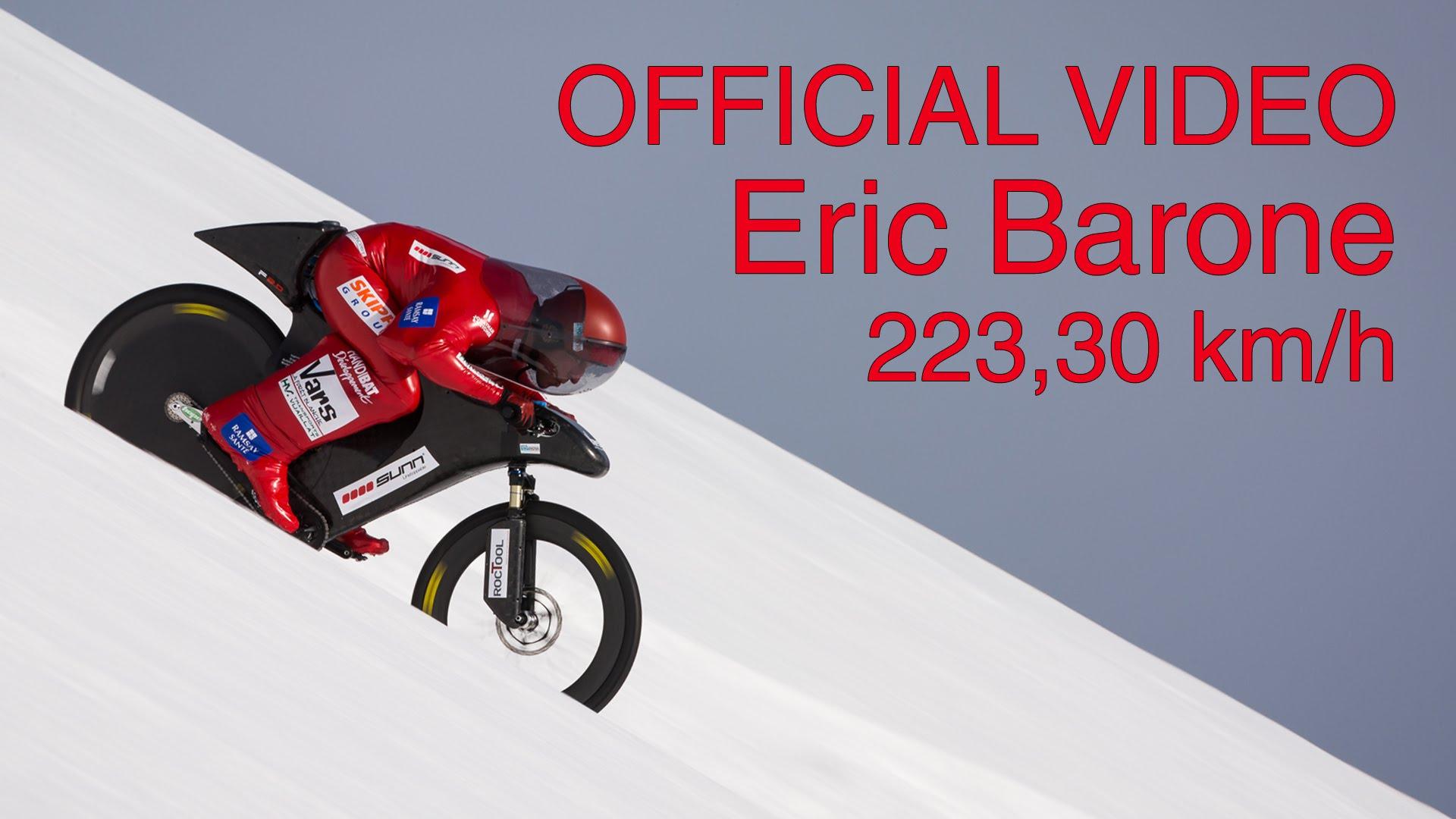 Nový světový rekord v rychlostní jízdě na horském kole!