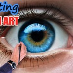 Kresba realistického oka – to je talent!