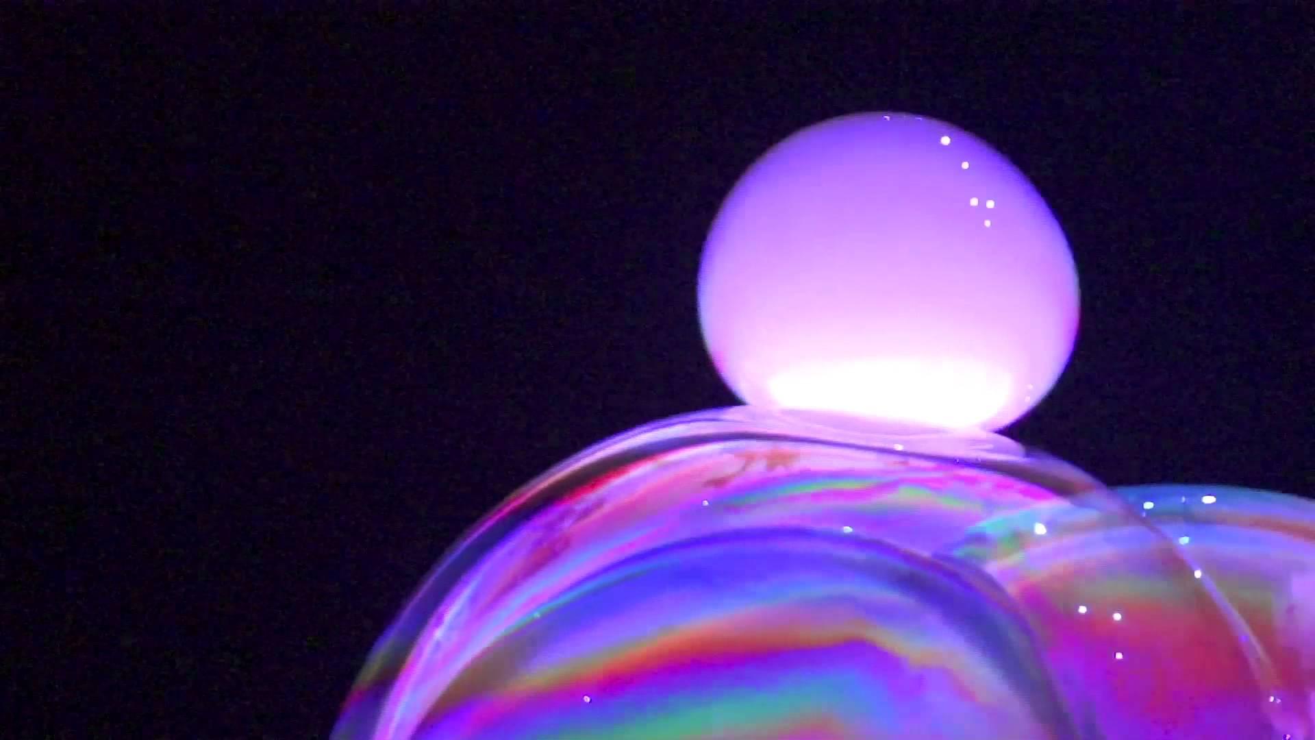 Nádherná bublinková show, kterou jste ještě neviděli!