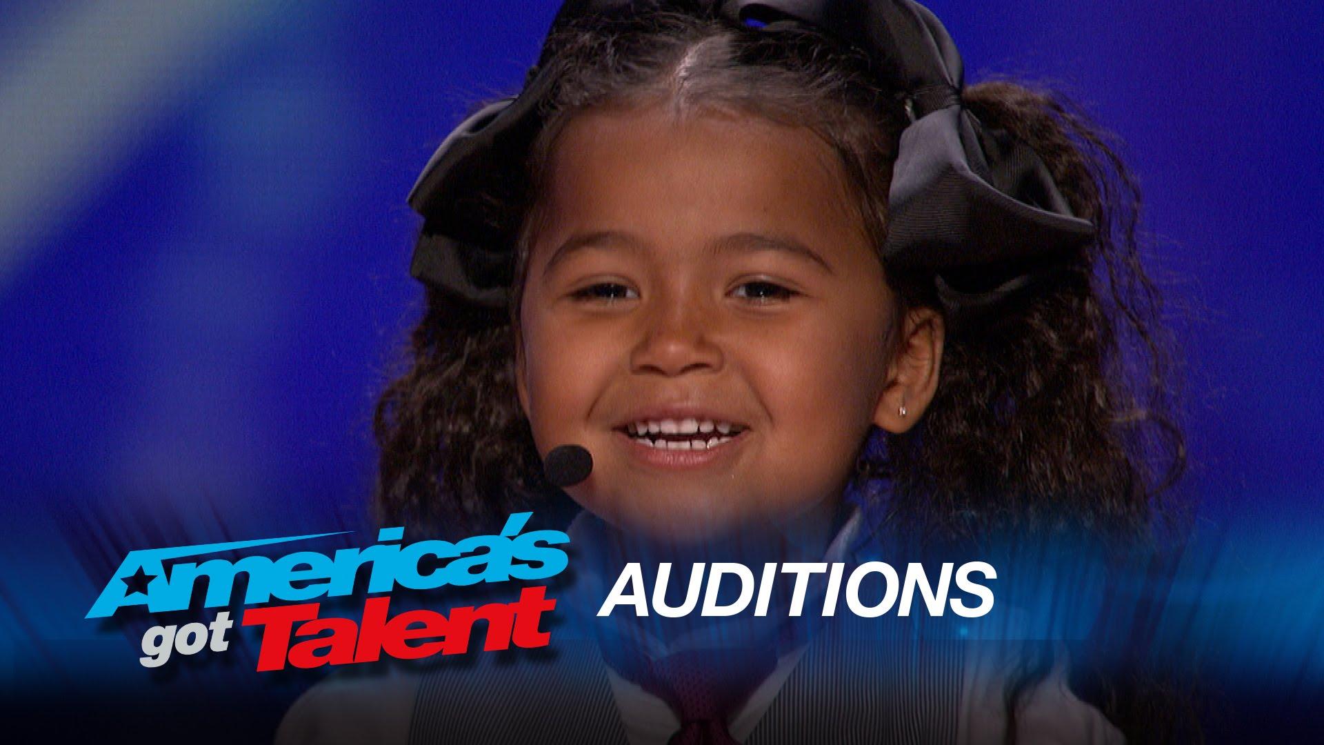 Podívejte se, jak to pětiletá holčička v talentové soutěži rozjela