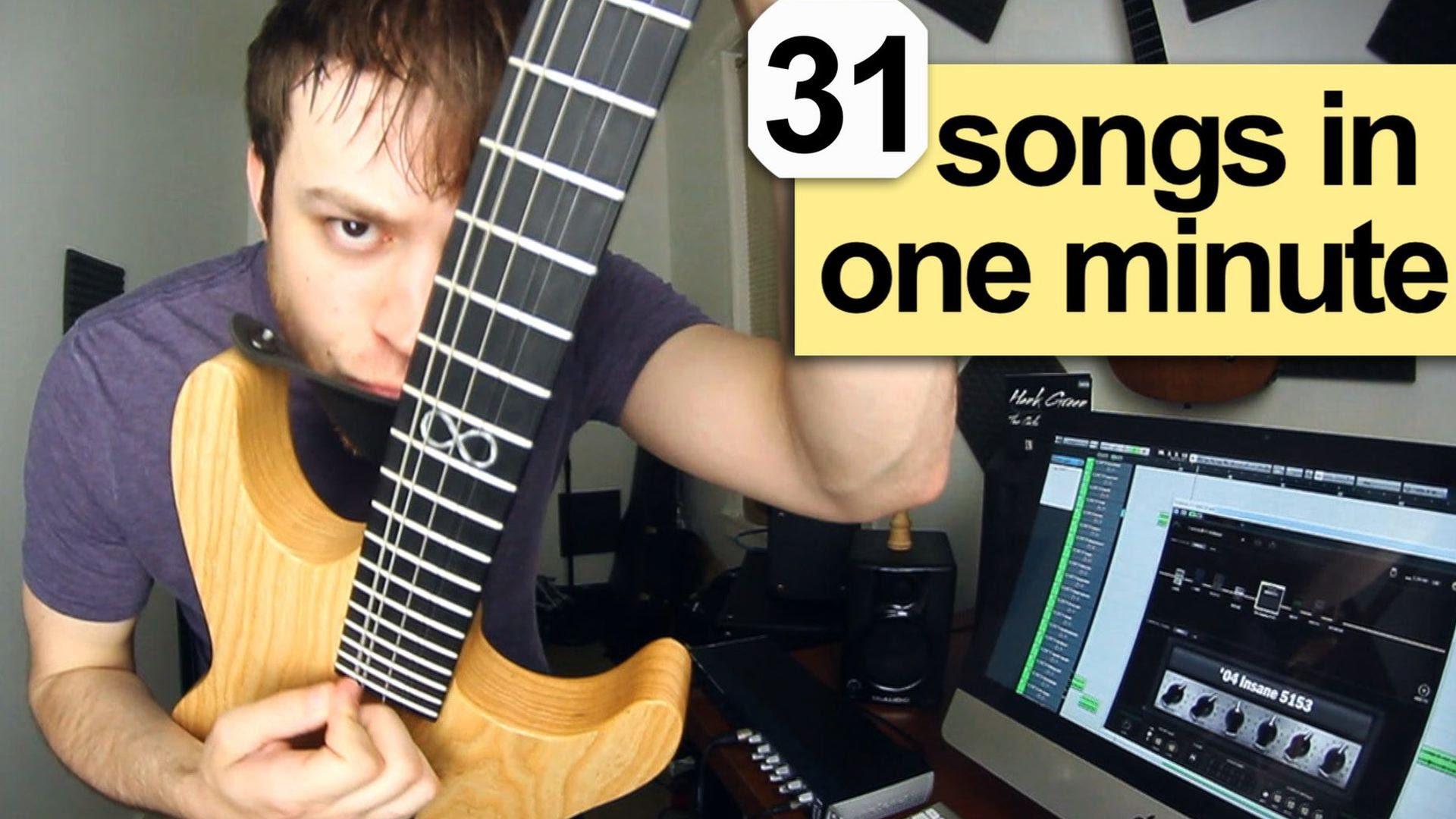 31 songů v jedné minutě – to je frajer!