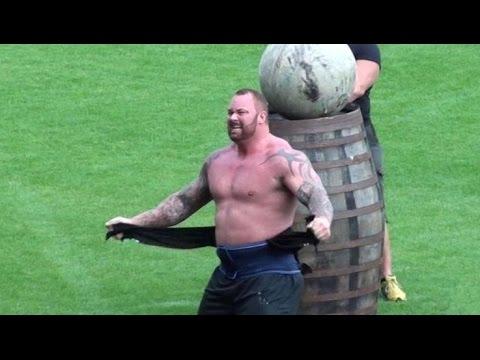 Tohle je nejsilnější muž v Evropě! Co říkáte na tuhle horu svalů?