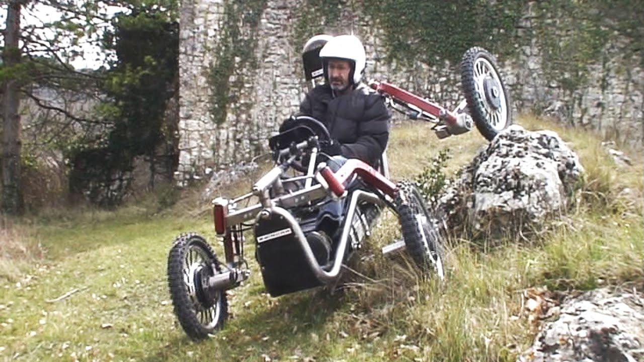 Super autíčko do terénu inspirované pavoukem