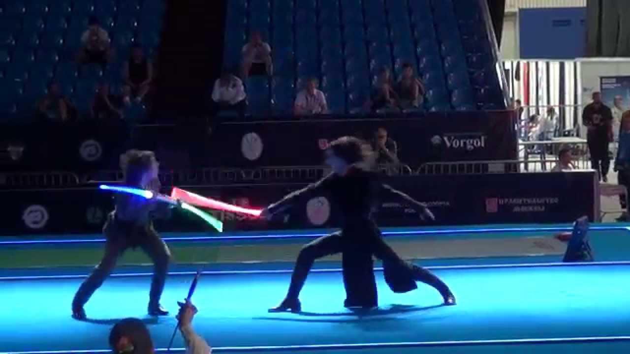 Star Wars duel: Mistrovství světa v pohledném šermu