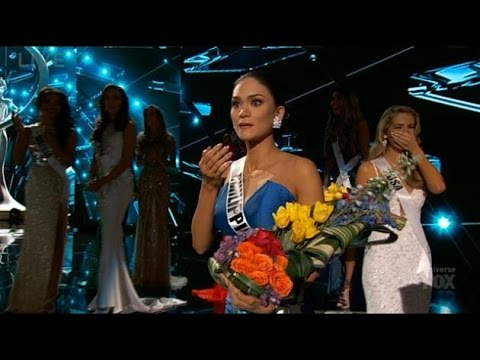 Přešlap vesmírných rozměrů: Moderátor si spletl jména při vyhlášení Miss Universe