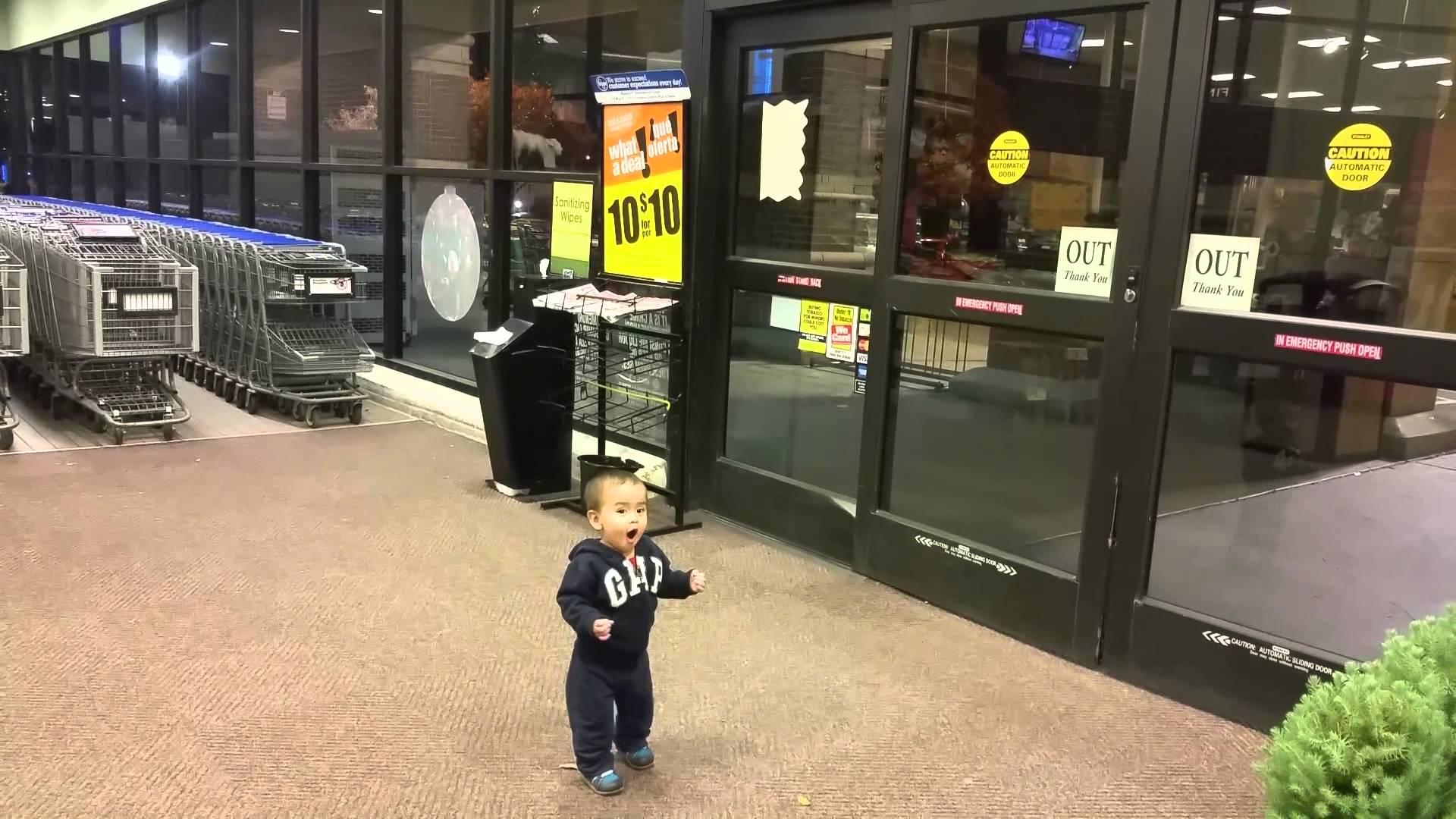 První setkání s automatickými dveřmi