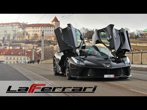 Nejluxusnější Ferrari v Praze! LaFerrari – auto plné emocí