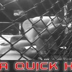 Tvrdý zápasník MMA napomínal při zápase maminku