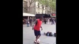 Nejlepší taneční vystoupení s fotbalovým míčem!