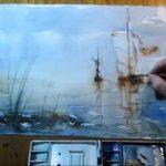 Nevěřili byste, co se dá namalovat na mokrý papír/plátno