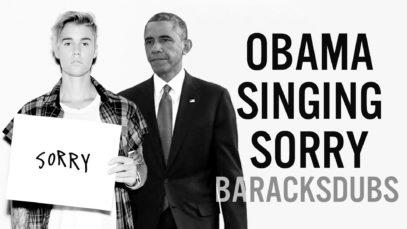 Prezident Barack Obama zazpíval píseň od Justina Biebera
