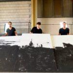 NEW YORK: Revoluční malba z písku a zlata