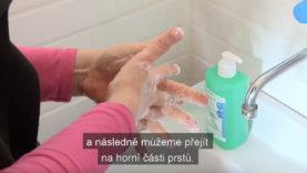 Návod, jak si správně mýt ruce